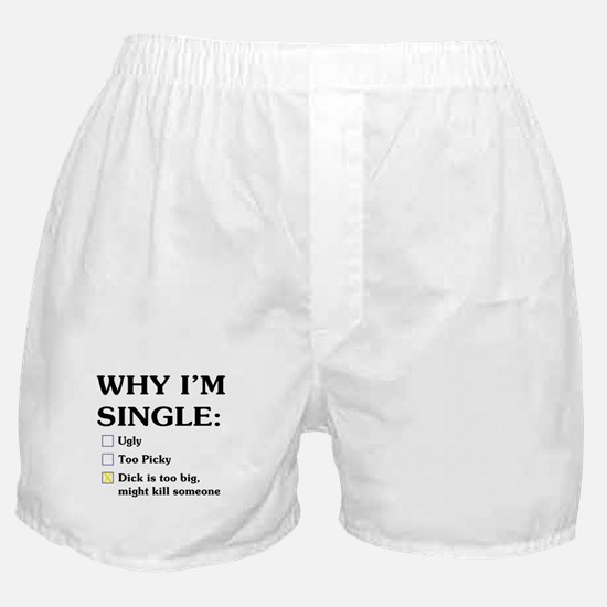 Dick is too big Boxer Shorts