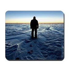 Antarctic Sunset Mousepad