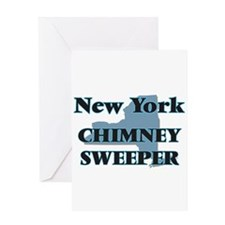 New York Chimney Sweeper Greeting Cards