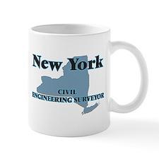 New York Civil Engineering Surveyor Mugs