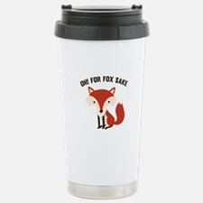 Oh! For Fox Sake Ceramic Travel Mug