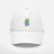 GOTG Rainbow Baseball Baseball Cap