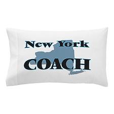 New York Coach Pillow Case