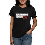 Off Duty Construction Worker Women's Dark T-Shirt