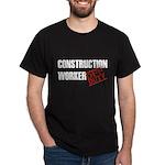 Off Duty Construction Worker Dark T-Shirt