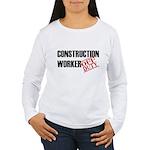 Off Duty Construction Worker Women's Long Sleeve T