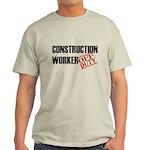 Off Duty Construction Worker Light T-Shirt