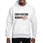 Off Duty Construction Worker Hooded Sweatshirt