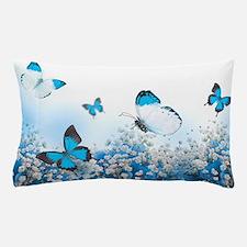 Flowers and Butterflies Pillow Case