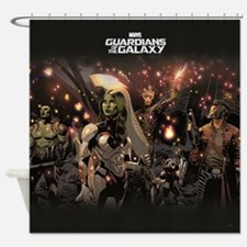 GOTG Group Shower Curtain