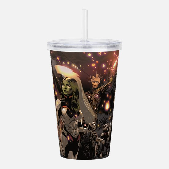 GOTG Group Acrylic Double-wall Tumbler