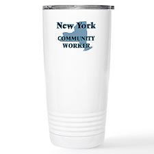 New York Community Work Travel Mug