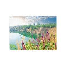 Lake Sunrise 5'x7'Area Rug