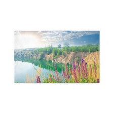Lake Sunrise Area Rug