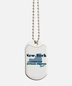 New York Computer Software Engineer Dog Tags
