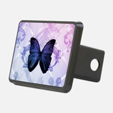 cute hipster girly butterf Hitch Cover