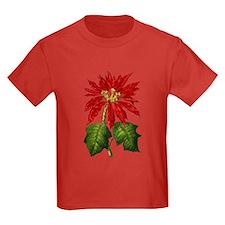 Botanical Poinsettia - One Si T