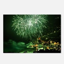 Firework HDR Postcards (Package of 8)