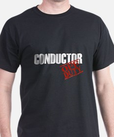 Off Duty Conductor T-Shirt