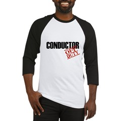 Off Duty Conductor Baseball Jersey