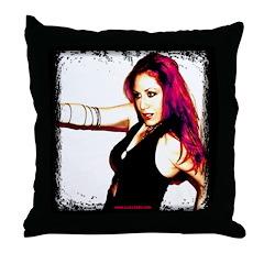Luna GC Throw Pillow