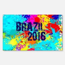 Brazil 2016 Burst Decal