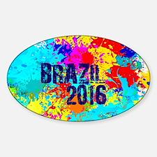 Brazil 2016 Burst Decal