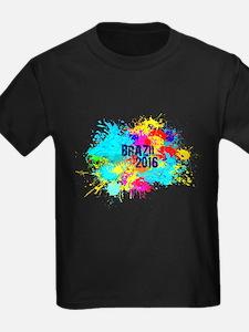 Brazil 2016 Burst T-Shirt