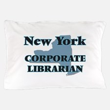 New York Corporate Librarian Pillow Case