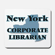 New York Corporate Librarian Mousepad