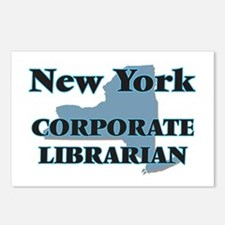 New York Corporate Librar Postcards (Package of 8)