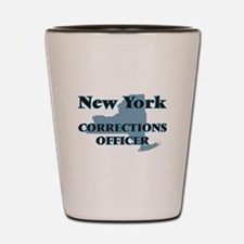 New York Corrections Officer Shot Glass