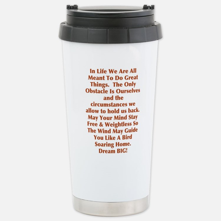 Free & Weightless Travel Mug