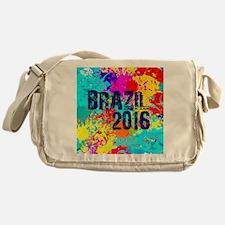 Brazil 2016 Burst Messenger Bag