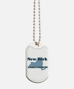 New York Cosmetologist Dog Tags