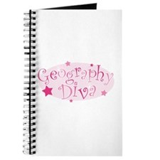 """Geography Diva"" [pink] Journal"