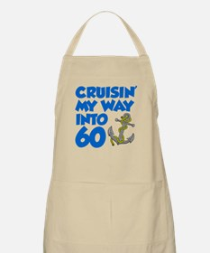 Cruisin Into 60 Light Apron