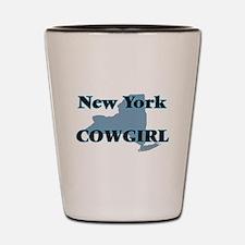 New York Cowgirl Shot Glass