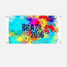 Brazil 2016 Carnival Burst Banner