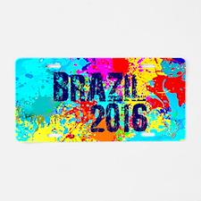 Brazil 2016 Carnival Burst Aluminum License Plate