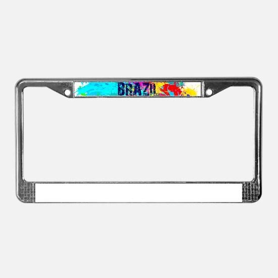 Brazil 2016 Carnival Burst License Plate Frame