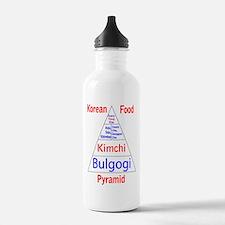 Korean Food Pyramid Water Bottle