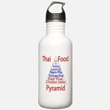Thai Food Pyramid Stainless Water Bottle 1.0l