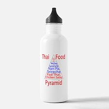 Thai Food Pyramid Water Bottle