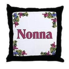 Nonna (Italian grandmother) Throw Pillow