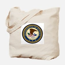 GOVERNMENR SEAL - DEPARTMENT OF JUSTICE! Tote Bag