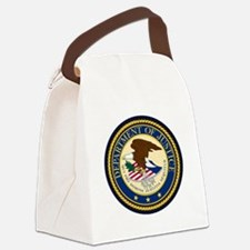 GOVERNMENR SEAL - DEPARTMENT OF J Canvas Lunch Bag