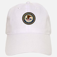 GOVERNMENR SEAL - DEPARTMENT OF JUSTICE! Baseball Baseball Cap