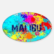 MALIBU BURST Decal
