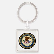 GOVERNMENR SEAL - DEPARTMENT OF JUSTICE! Keychains